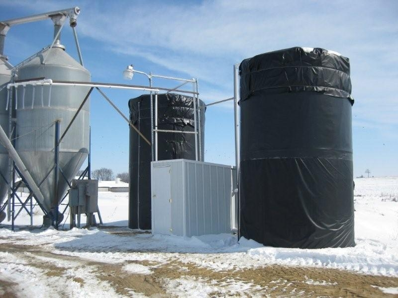 Powerblanket Silo Heating